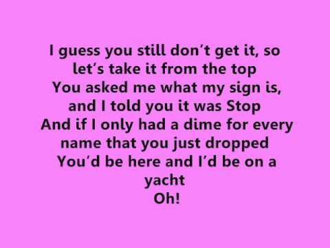 Victoria Justice and Elizabeth Gillies Take A Hint Lyrics ...