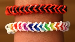 Rainbow Loom English - SPINELET - Loom Bands, easy, how to, DIY