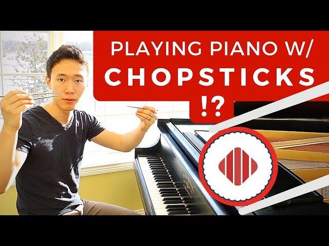 Playing Chopsticks with Chopsticks (Most Asian Video)