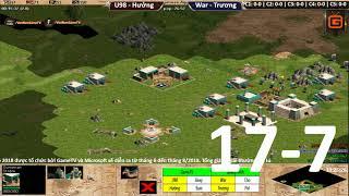 C1T1 | 2vs2 Random | Hưởng - U98 vs Trương IS - War | Ngày 17-7-2018