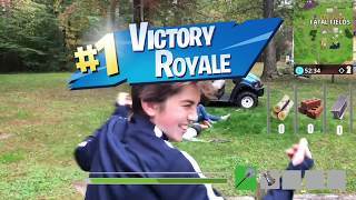 Fortnite In Real Life 2 (Nerf and Airsoft)