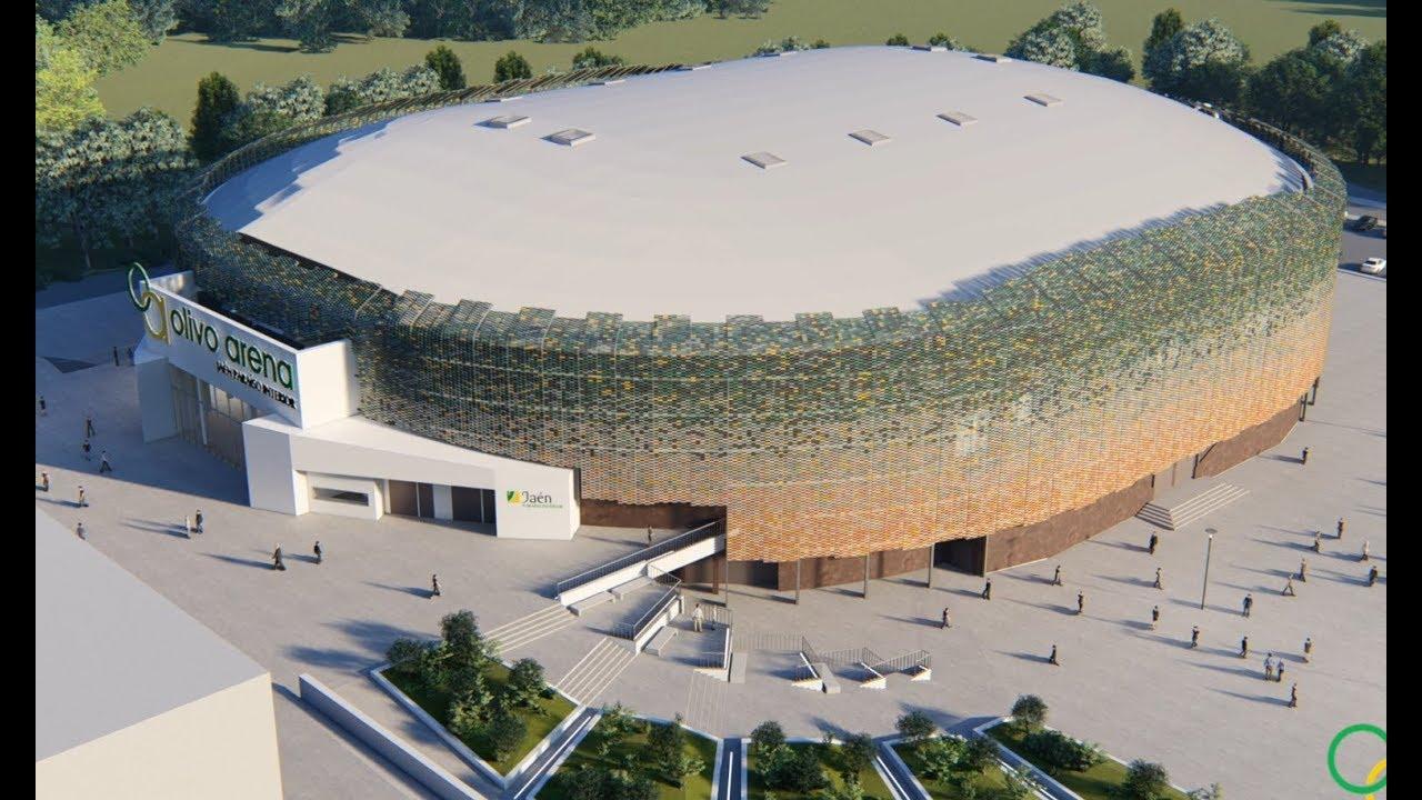 """Proyecto del Palacio de Deportes """"Olivo Arena"""" - YouTube"""