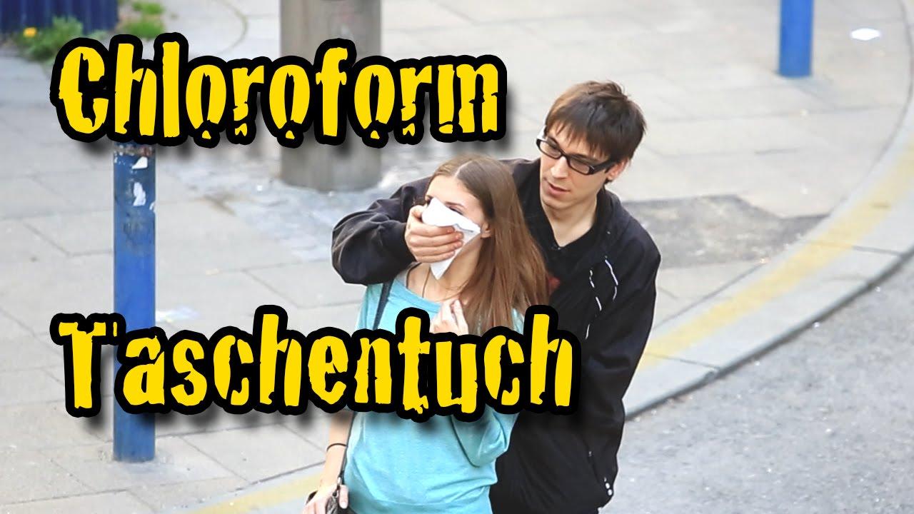 Chloroform Prank - echt Fett - Versteckte Kamera - YouTube