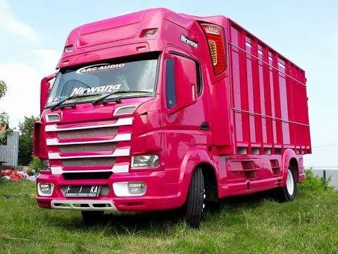 Modifikasi Canter Ala Scania Next Generation By Vika Nirwana by