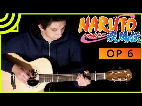 Naruto Shippuden OP 6 - Sign by FLOW (Fingerstyle Guitar Cover by Albert Gyorfi) [+TABS]
