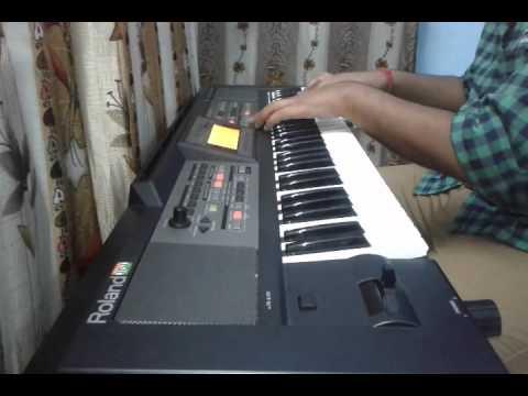 Lathe di chadar on keyboard by Rahul Sharma
