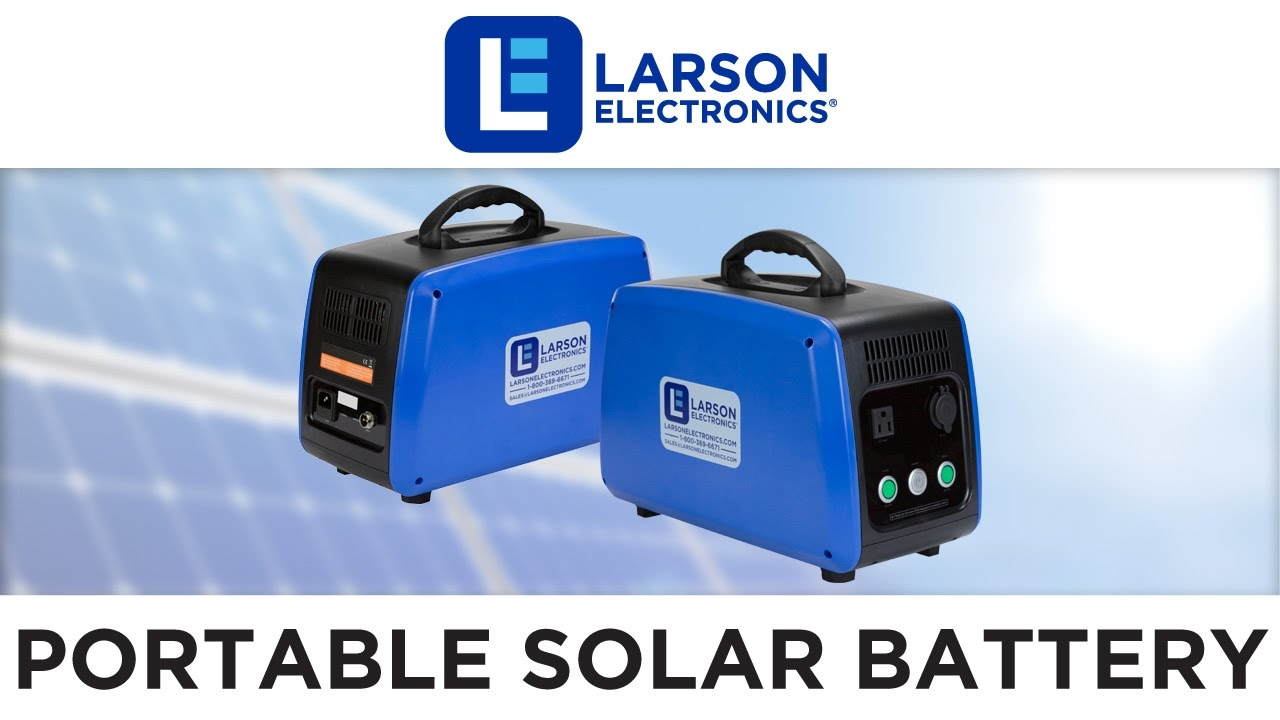 Portable Solar Power Battery Pack With 1500wh Capacity