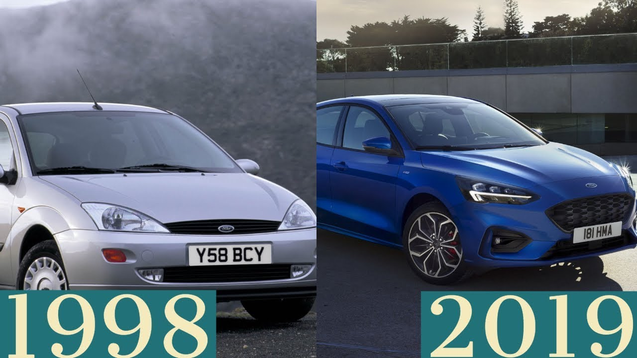 Ford Focus Through The Years
