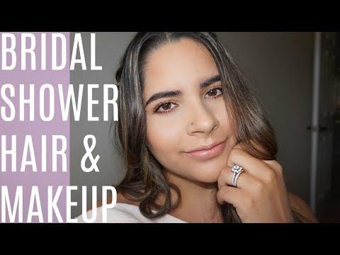 Bridal Shower HAIR & MAKEUP Tutorial