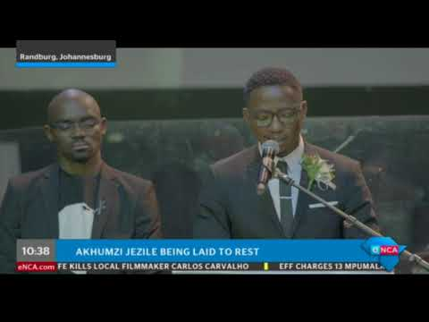 Andile Ncube reads out letter from Akhumzi's mother