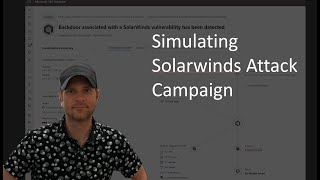 Solarwinds And SUNBURST Attacks Compromised My Lab