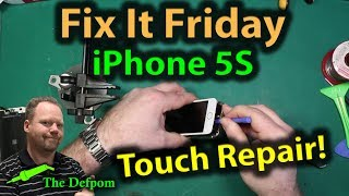 🔴 #473 Apple iPhone 5S No Touch Repair - Fix iPhone Touch Problem