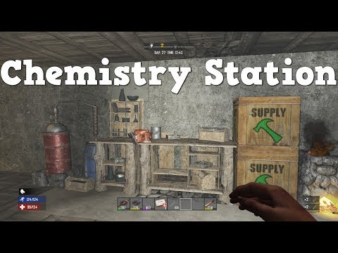 7 Days to Die | PS4 | Chemistry Station | S2 EP21