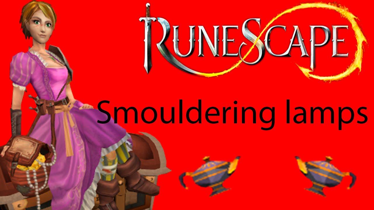Smouldering lamps - 450 treasure hunter keys - Runescape | DKM ...