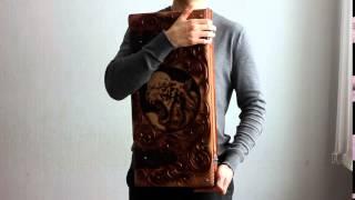 Тигр - зоновские нарды ручной работы.(Нарды