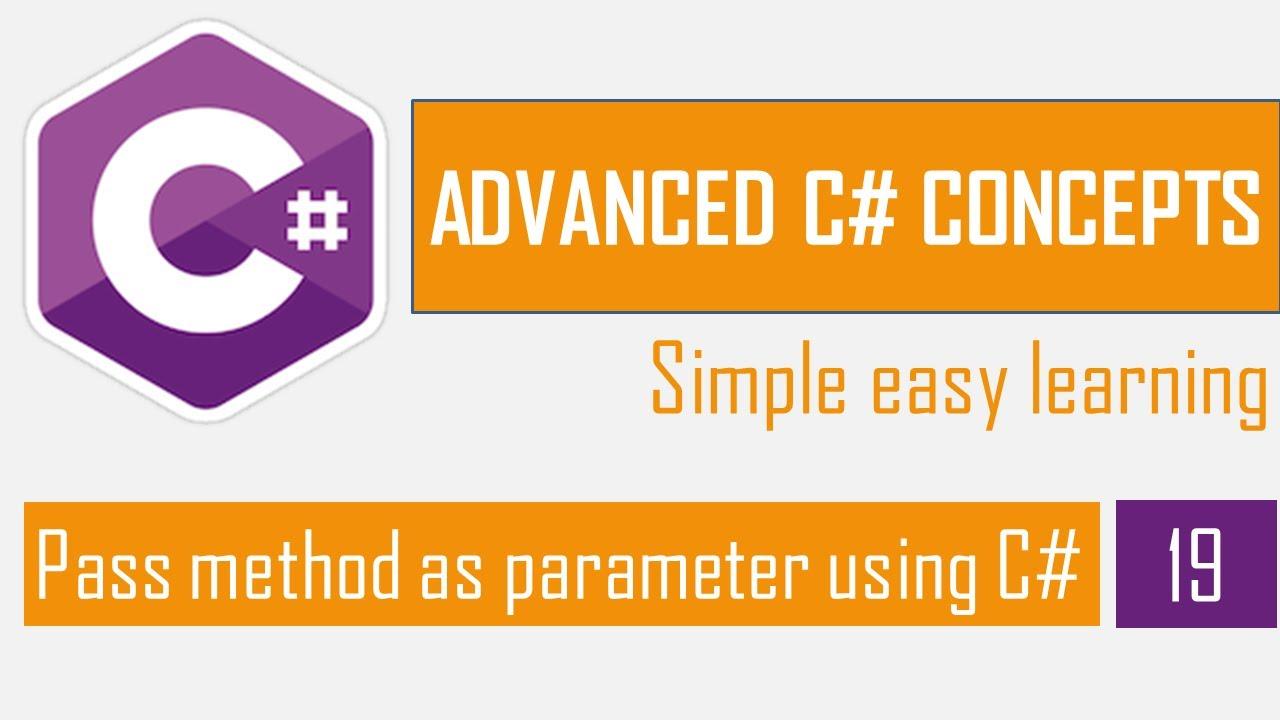 Pass method as parameter using C# | Delegates in C# | C# Bangla Tutorial | Advanced C#