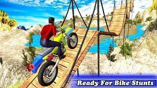 Bike Stunts Trick Master game || Bike Stunt game || games screenshot 5