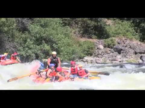 Upper Klamath River  08-16-13 with the Shanks Family