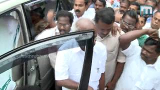 MM Mani Entered Idukki District After 7 Months