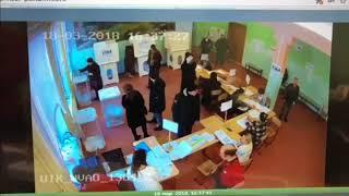 Технологии фальсификации на выборах президента УИК 1364 района Кузьминки, Москва