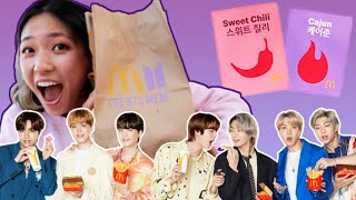BTS Superfans Rate The BTS McDonald's Meal In The US