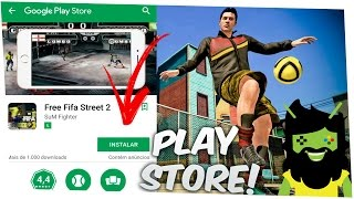 🔴DOWNLOAD FIFA STREET 2 NA PLAYSTORE ANDROID GAMEPLAY