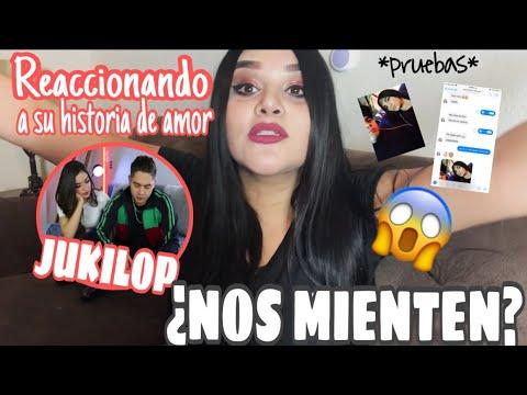 REACCIONANDO A LA HISTORIA DE AMOR DE JUKILOP - Diana Estrada