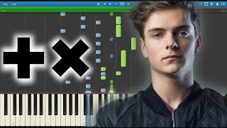[FREE MIDI] Martin Garrix - Animals (Poison) Piano Intro Version (@ADE 2015)