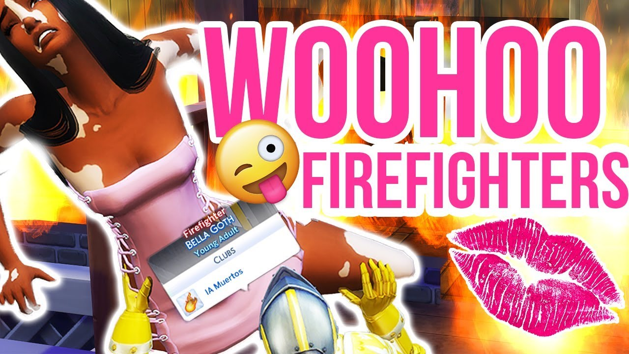 I Burned Down Houses to Woohoo FireFighters!! // The Sims 4