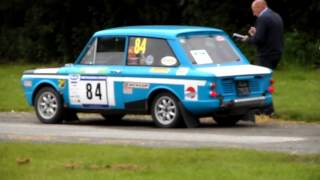 Sunbeam imp sport rallying in mid wales