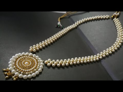 Grand Pearl Amazing new design making tutorial video | hand craft jewelry factory