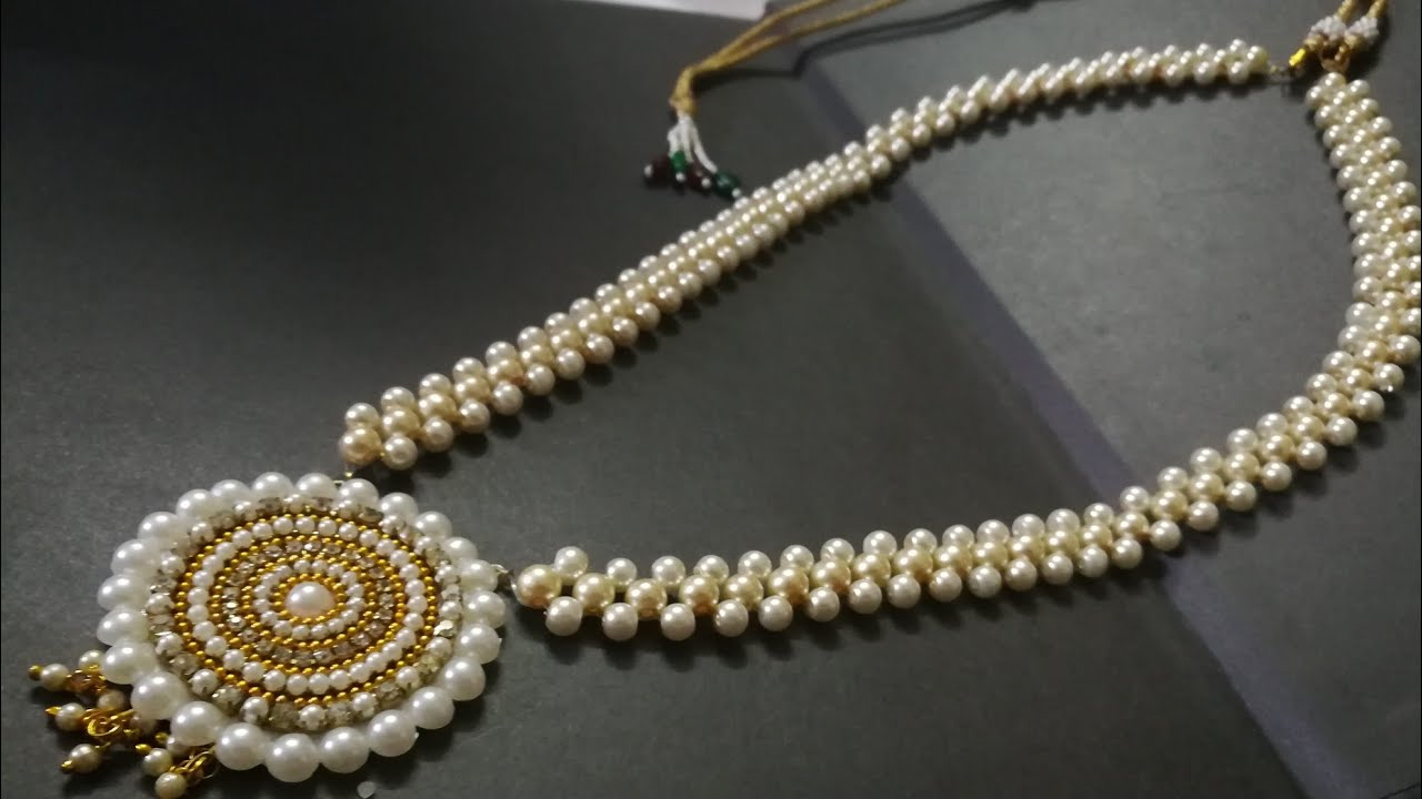 Grand Pearl Amazing New Design Making Tutorial Video Hand Craft