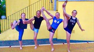 Turner vs. Nicht Turner 😂 mit meinen Schwestern und meiner Cousine 💖 Gymnast vs. non Gymnast