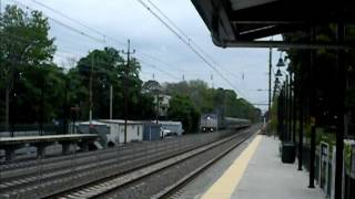 Exclusive: AMTRAK DASH 8-32BWH #514 on Pennsylvanian Train to Pittsburgh Train #43 5/18/2013