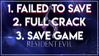 Resident Evil 6 PC | Failed to Save, Save Game, and Full Crack 2018