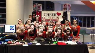 Seminole High School Cheers for Chloe
