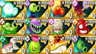 Plants Vs Zombies 2 MOD All Plants Premium Mastery 999999 Vs All Freakin Zomboss