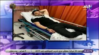 شاهد | اللص الخائن الهارب محمد علي فى المستشفي بعد فشل دعوته للفوضى