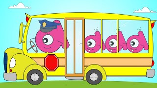 The Wheels On The Bus Nursery Rhyme | English Tree TV
