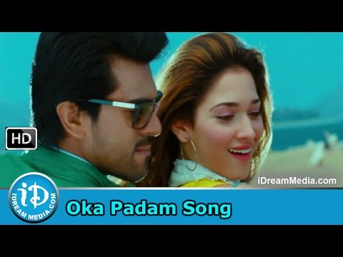 Racha Movie Songs - Oka Padam Song - Ram Charan - Tamanna Mani Sharma Songs