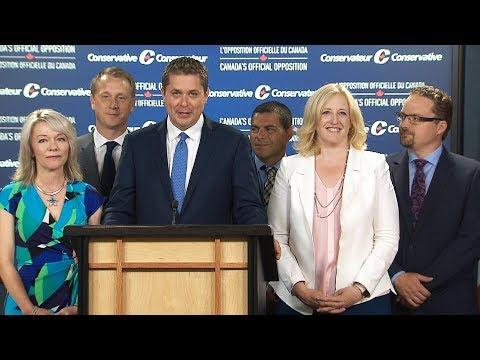 Andrew Scheer names Lisa Raitt as Conservative deputy leader