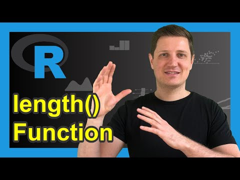 Length Function In R Programming (Example) | Number Of Vector Elements