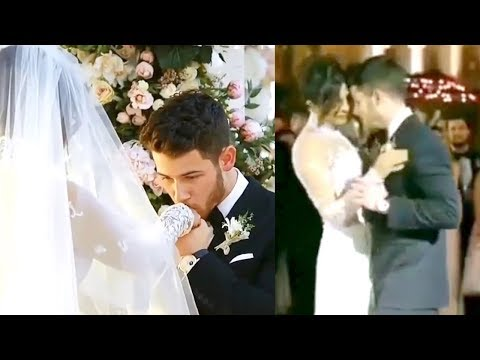 Priyanka Chopra And Nick Jonas Romantic Wedding Dance In Front Of Parents After Wedding At Jodhpur
