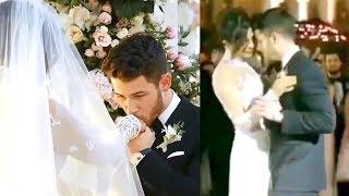 Priyanka Chopra And Nick Jonas Romantic Wedding Dance In Front Of Parents After Wedding At Jodhpur