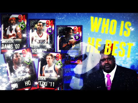 WHO IS THE BEST PLAYOFFS MOMENTS 94 OVR? - Playoffs Moments (NBA Live Mobile)
