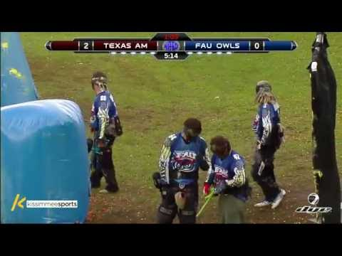 Texas A&M vs. Florida Atlantic University - 2016 NCPA College Paintball Prelims