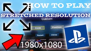HOW TO GET STRETCHED RESOLUTION FORTNITE ON CONSOLE LIKE PC PLAYERS(NEW METHOD SEASON 8
