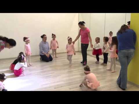 3-4 yaş grubu Bale öğrencilerimizin ilk dersleri