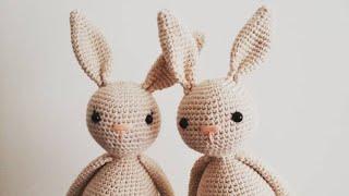 Amigurumi tavşan yapımı.Bölüm3