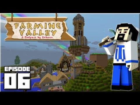 Farming Valley - Ep 06 : Un incroyable village !!